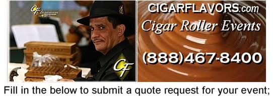 Cigar roller nyc wedding